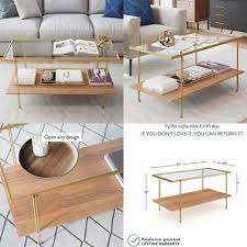 oak coffee table for pic