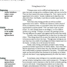 Kids Essay Examples How To Teach Essay Writing Kids Academic