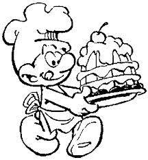 108 Beste Afbeeldingen Van Smurfen Smurfs Coloring Pages En The