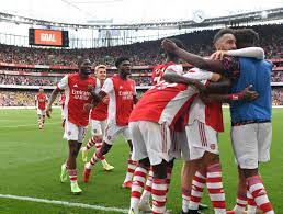 Arsenal against Norwich City