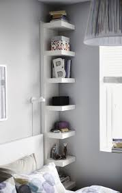 wall shelf unit small bedroom designs