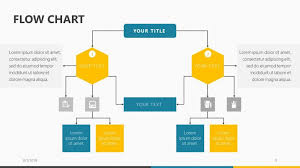 Workflow Chart Powerpoint Flow Chart Free Powerpoint Template