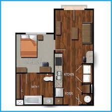 Our One Bedroom, One Bath College Station Apartment Offers A Foyer, Washer  And Dryer, Galley Kitchen, Study Space, Living Area, And Bedroom With  Connecting ...