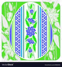Beautiful Easter Egg Hunt Invitation Flyer Poster