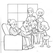 Small Picture family coloring pages Google Search Sunday school Pinterest
