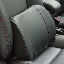 pu memory foam car auto seat waist rest soft cushion lumbar back support cushion