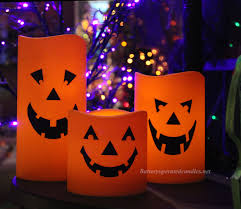 outdoor candles lanterns and lighting. Halloween Jack-o-Lantern Flameless Outdoor Candle 6 X 9 Inch - Timer Candles Lanterns And Lighting