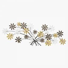 flower burst wall decor 82x3 5x29 5
