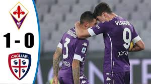 Fiorentina vs Cagliari 1-0 All Goals & Highlights 10/01/2021 HD - YouTube