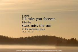 I Will Miss You Quotes Enchanting I Think I Will Miss You Forever