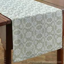 creamery table runner length choice design for 60 round