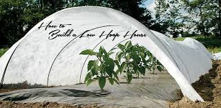 how to build a tunnel system hoop house