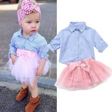 <b>Emmababy 2020</b> Cute Sweet Kids Baby <b>Girl</b> Stripe T shirt Long ...