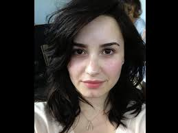 demi lovato looks drop dead gorgeous without makeup don t you think when are naturally beautiful