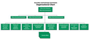 Organizational Setup Securities And Exchange Commission