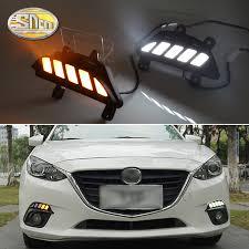 <b>2PCS</b> LED Daytime Running Light For <b>Mazda 3</b> Axela 2014 2015 ...