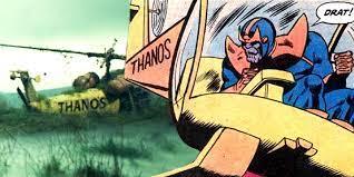 warum Thanos einen Thanos Copter hatte ...