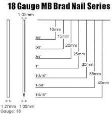 mb brad nail headless nail