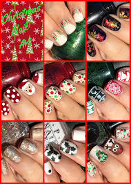 <b>Christmas</b> Nail Art! | <b>Cute Girls</b> Hairstyles