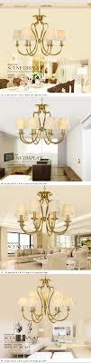 Großhandel Vintage 8 Lichter Metall Kronleuchter Deckenleuchten Antik Messing Kronleuchter Lampenschirm Beleuchtung Für Home Deco Von