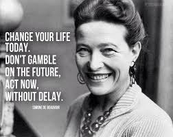 Simone De Beauvoir Quotes Adorable Simone De Beauvoir Quote Información Pinterest Simone De