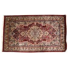 white red 3 5 persian hand knotted wool rug