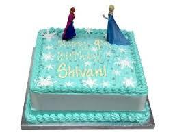 Frozen Birthday Cakes
