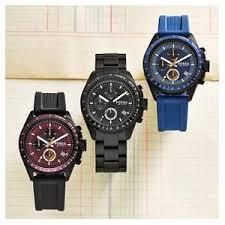 amazon com fossil men s ch2601 decker black stainless steel fossil fossil men s stainless steel chronograph black dial watch black dial