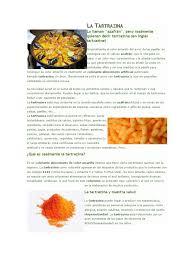 Colorante Amarillo 5 Tartrazinalll L Duilawyerlosangeles Colorante Amarillo 5 L