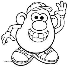 mr potato head drawing. Modren Head Potato Head Coloring Pages Mr Drawing At Getdrawings With