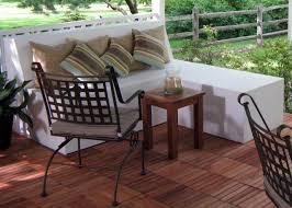 Build An Ottoman How To Build Outdoor Patio Bench With Ottoman Hgtv