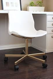 White Leather Office Chair Ikea IKEA Hack Make The 20 SNILLE Chair Look Like An Expensive Office White Leather Ikea K