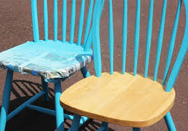 spray paint furnitureFurniture Makeover Spray Painting Wood Chairs  In My Own Style