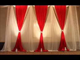 Cloth Decoration Designs Aga Wedding and Event Decor YouTube 2