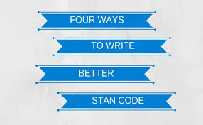 four ways to write better stan code