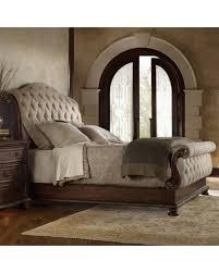 tufted upholstered sleigh bed. Plain Upholstered Hooker Furniture Adagio Tufted Upholstered Sleigh Bed Size California King Inside Bed