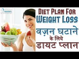 Diet Plan For Losing Weight Fast For Women Men In Hindi