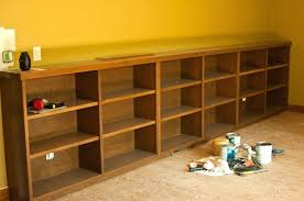 build your own office. Gallery Of Ana White Build Your Own Office Wide Bookcase Base Diy Projects Lovely Short