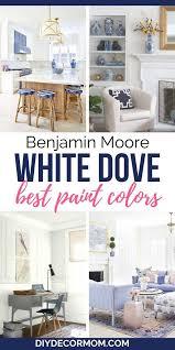 benjamin moore white dove the perfect