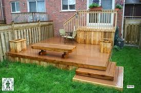 small decks patios small. 2 Level Decks For A Small Back Yard This Deck Plan Is Medium Patios