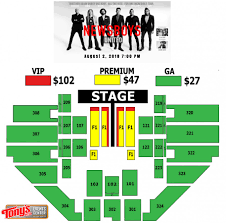 Salina Bicentennial Center Seating Chart Events Newsboys United Tour Tonys Pizza Events Center