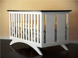 contemporary crib contemporary crib rustic modern crib from