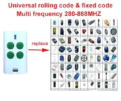 remote controls garage door openers replacement remote control door mate radio