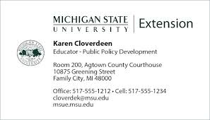 Sample Student Business Cards Art Card Template Graduate Phd