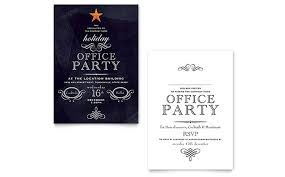 holiday party invitation template office holiday party invitation template design
