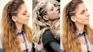 Viking Hairstyle Female vikings inspired lagertha hair tutorial viking hairstyles 5356 by wearticles.com