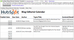 Calendar Templates For Websites 2018 Editorial Calendar Templates