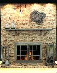 Glass Fireplace Doors Open Or Closed Gas Door Replacement Parts ...