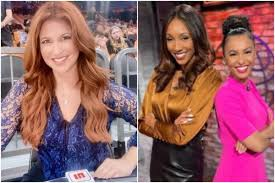 First day back on an airplane in four months and i'm already in a who wore it better contest with… We Believe This Is Best Decision For All Rachel Nichols Replaced On Nba Finals Sideline Following Emergence Of Comments About Fellow Espn Host Maria Taylor