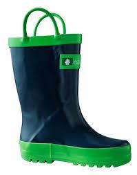 Oakiwear Rain Boots Size Chart Oakiwear Kids Waterproof Rubber Rain Boots With Easy On